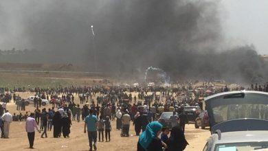 Photo of إصابة 69 فلسطينيا من طرف جيش الاحتلال الإسرائيلي شرق غزة